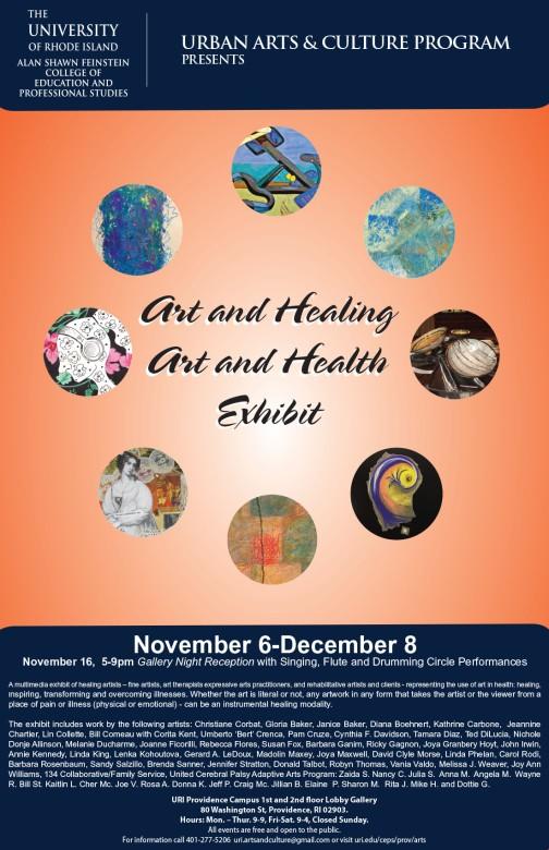 art in healing poster